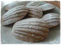 Madeleines al cappuccino