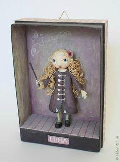 """""""Luna"""" - Photo de BOITES ET CADRES DISPONIBLES * Available boxes and frames - Tibout de blog"""