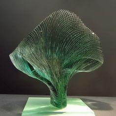 Swing by Maia C, via Flickr. Glass sculpture by Niyoka Ikuta, 1991.