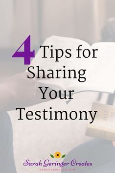 Are you nervous about sharing your testimony? It's not that difficult if you use these easy, practical steps. Gain encouragement from this post. Christian Living, Christian Faith, Christian Women, Strong Faith, Faith In God, I Am Statements, Christian Relationships, Proverbs 31 Woman, God Loves Me