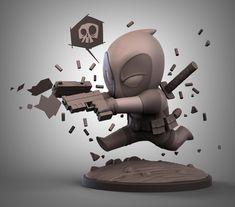 ArtStation - Deadpool Chibi, Stepan Katlyarov