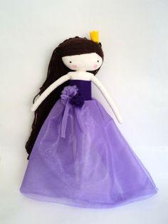 Princess rag doll fairy tale princess doll by lassandaliasdeana