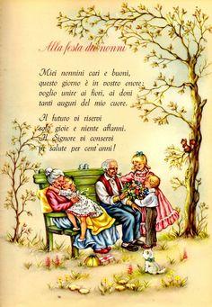 Laboratori per bambini: poesia per la festa dei nonni