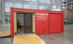 Mobile Caribbeing shipping container pavilion enriches NYC communities with Caribbean art and culture | Inhabitat - Green Design, Innovation, Architecture, Green Building