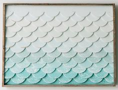 Mermaid Tail Wall Art - Medium