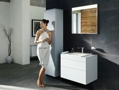 KEUCO EDITION 400 - fittings accessories mirror cabinets bathroom furniture and washbasins