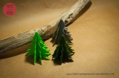 Christmas decoration session – part 1 Small Trees, Fabric Paper, Origami Paper, About Me Blog, Christmas Decorations, Fabrics, Plants, Diy, Noel