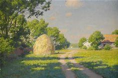 Landscape Painting - Swedish Artist Johan Krouthen (1858–1932)