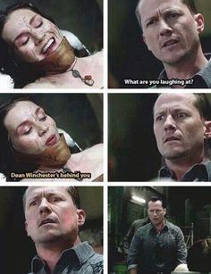 Meg quotes Supernatural