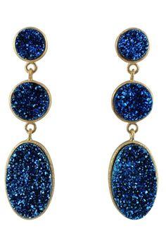 Brazilian Infinity Drop Earrings