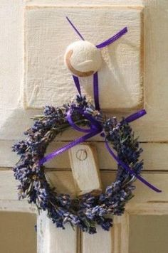 lavender wreath by janet