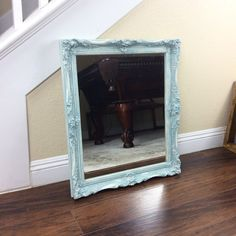 FABULOUS WALL MIRROR Cottage Chic Mirror French by ShabbyShores