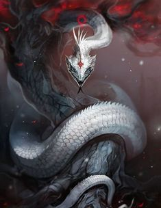 personally am not a serpent fan. But what about you guy ? Any fans here who lo -I personally am not a serpent fan. But what about you guy ? Any fans here who lo - Dark Fantasy Art, Fantasy Artwork, Fantasy Love, Digital Art Fantasy, Deadly Creatures, Mythical Creatures Art, Magical Creatures, Mystical Creatures Drawings, Dark Creatures