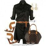 Summer Dresses 2012 | Classic Black Shirt Dress