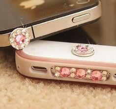 eBADA A set of bling crystal anti dust, home button sticker, dock charge antidust for iphone 4S eBADA,http://www.amazon.com/dp/B00C75B0ZK/ref=cm_sw_r_pi_dp_wuCVsb1XSHNZT85G