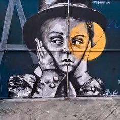 Street art in Paris  #streetart #streearteverywhere #graffiti #graffitiparis #urbanartparis #urbanwalls #urbanart #instagraffiti #instagraff #wallart #graffitiart #graffitiporn #thisisstreetart #streetartphoto #streetartistry #streetartist #streetartphotography #wallartparis #graffitiphotographer #streetartParis  #globalstreetart #rsa_graffiti #tv_streetart #streetart_daily #instastreetart #streetart_official #isupportstreetart #artderue #talkingwalls #muralfestival