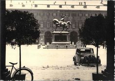 Piazza San Carlo anni 50 Turin Italy