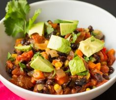 Smoky Chipotle Black Bean Chili