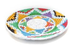 At this price,maybe I should go back to the souq and buy a load of these! Image of Multi Woven Plate
