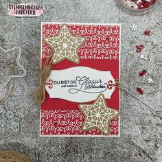 Lebkuchenzeit - Verzierte Lebkuchen - Stampin' Up! Up, Paper Mill, Ginger Beard