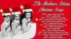 Xmas Music, Christmas Music, Christmas Goodies, Christmas Stuff, Christmas Songs Youtube, Traditional Christmas Carols, Western Christmas, Vintage Christmas, Christmas Tree Angel