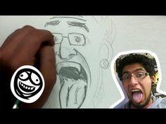 "Tip PARA DIBUJANTES PRINCIPIANTES (Dibujo de rostro ""CALCADO"" - YouTube"