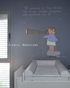 kid´s rooms by #stencilbarcelona