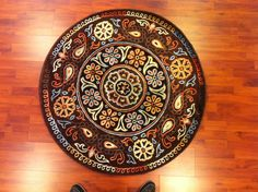 Multi-color designer avangarde rug! www.myhome.com.tr
