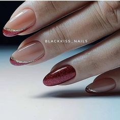 100 most valuable nail design ideas - Page 43 of 99 - Inspiration Diary May Nails, Hair And Nails, French Nails, Simple Nail Art Designs, Nail Designs, Cute Nails, Pretty Nails, Long Round Nails, Bright Nail Polish
