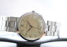 Rolex Precision #Rolex #Precision #9083 #1958 #honeycombdial #steel #vintage #watches #steinermaastricht