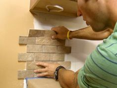 How to Tile a Kitchen BacksplashAdd the perfect finishing touch to your kitchen with these step-by-step instructions for installing a tile backsplash.