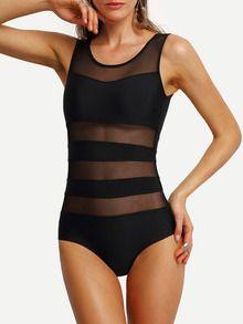 maillot de bains insertion mesh