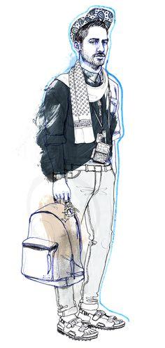 Illustrator Silke Werzinger  www.auraphotoagency.com