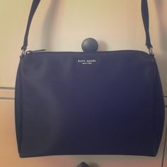 "Vintage Kate Spade purse Never used. Been in my closet for over a decade.  10"" wide, 7.5"" tall, 16"" tall with strap. kate spade Bags Shoulder Bags"