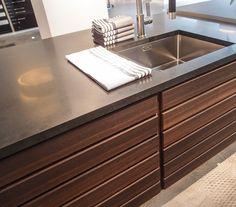 undermount sink. scandinavian kitchens. |hearty-home.com