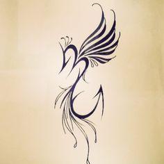 phoenix with scorpion tattoo - Google Search