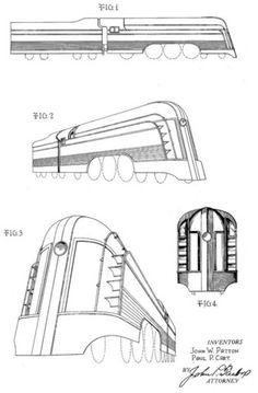 Patton Locomotive and Tender Design – Vintagraph
