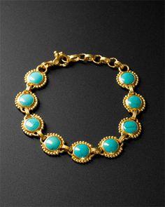 Gurhan 24K Turquoise Bracelet