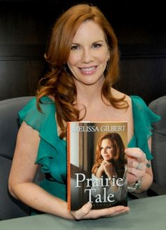 Melissa Gilbert<3 I have that book!