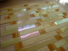 Arts and Crafts Glass Tile Beautiful Craftsmen Style 15 Sheets Contemporary | eBay