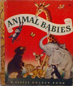 Animal Babies - Little Golden Book