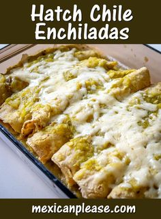 Hatch chile season is here! Keep an eye out for these beauties and if you need a recipe then try out these droolworthy Hatch Enchiladas. So good!