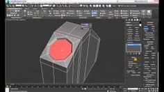 3ds Max - Quick and Efficient Way of Making A Hole Into Any Mesh Topology without Booleans. #3ds #max #tutorial
