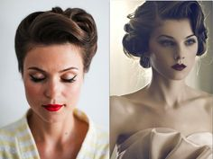 a guide to vintage inspired wedding cute hairstyles classic wedding updos for long hair 800x600