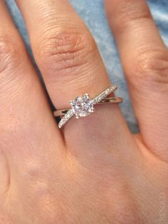 Hey, I found this really awesome Etsy listing at https://www.etsy.com/au/listing/219331414/infinity-engagement-ring-diamond