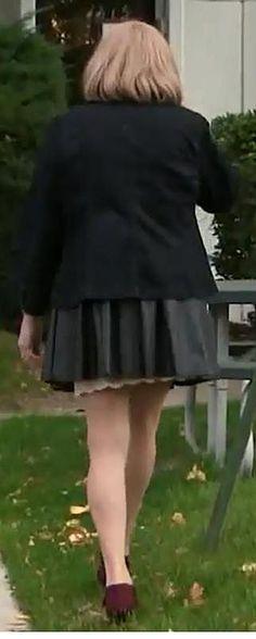 117 Best Slips Showing Images Under The Skirt Slip On