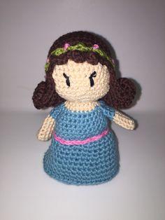 Linda Princesa #amigurumi