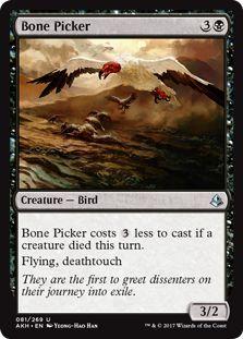 Magic: The Gathering: Amonkhet - Bone Picker