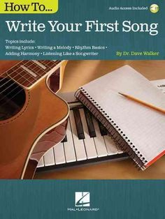 (Music Instruction). The hardest song you will ever write is your first. This book is designed to help you accomplish that goal. We're not going to jot down just any song, but one that you are proud o