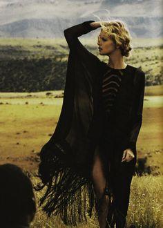 "Marloes Horst in ""Wanderlust"" by Will Davidson for Haper's Bazaar Australia March 2012"